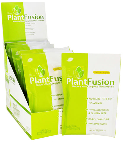 PlantFusion - Plant Protein Vanilla Bean - 12 x 1.06 oz. Packets