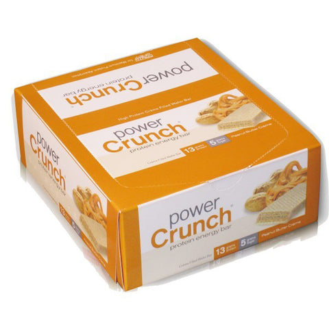 Power Crunch - Protein Energy Bar Peanut Butter Creme - 12 x 1.4 oz. Cookies