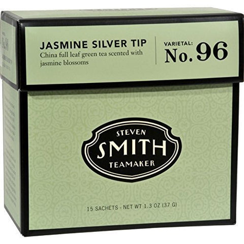 Smith Teamaker - Green Tea Jasmine Silver Tip No. 96 - 6 x 15 Tea Bags