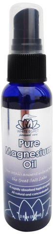 White Egret - Pure Magnesium Oil Spray - 2 fl. oz. (59 ml)