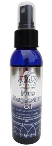 White Egret - Pure Magnesium Oil Spray - 4 fl. oz. (118 ml)