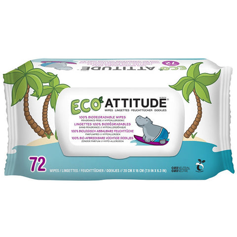 ATTITUDE - Eco Baby Wipes