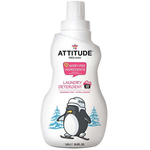 ATTITUDE - Little Ones Laundry Detergent Fragrance Free