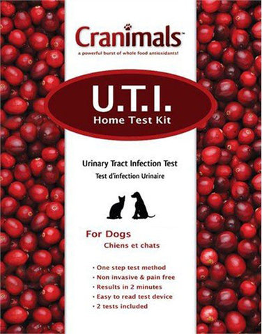 CRANIMALS - Urinary Tract Infection Home Test Kit for Dogs