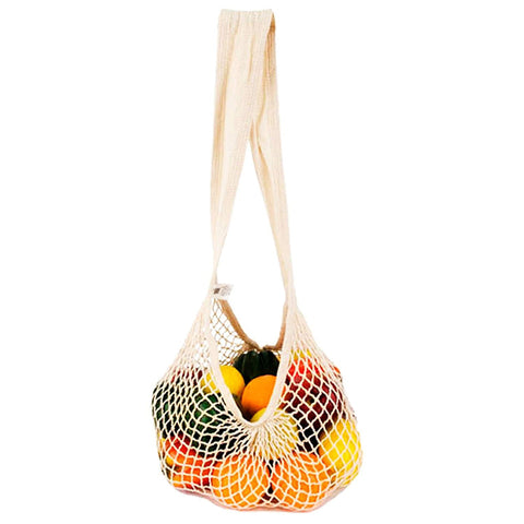 ECO-BAGS - Natural Cotton String Bag Milano Handle Natural