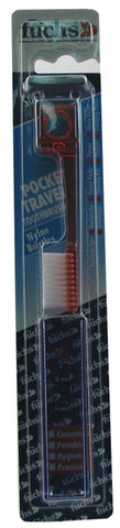 FUCHS BRUSHES - Pocket Nylon Travel Toothbrush