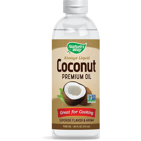 NATURES WAY - Liquid Coconut Premium Oil