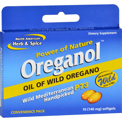 NAHS - Oreganol P73 Blister Pack