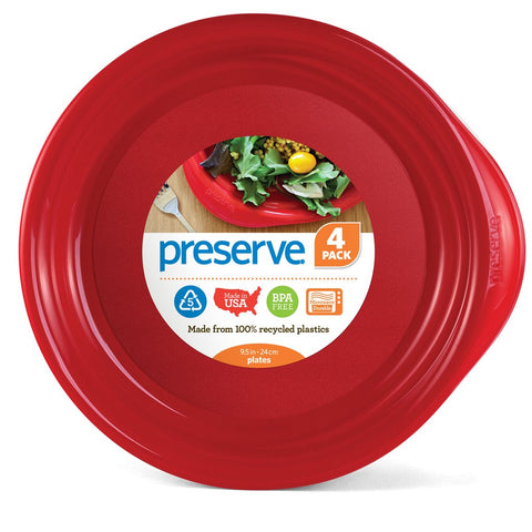 PRESERVE - Everyday Plate Pepper Red