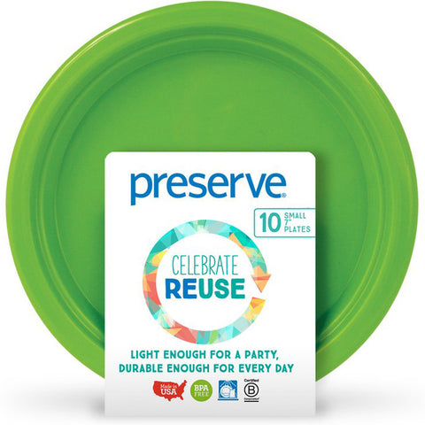 PRESERVE - On The Go Plate Green Apple Small