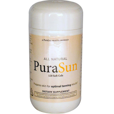 SANTE ACTIVE - All Natural PuraSun - 120 Soft Gels