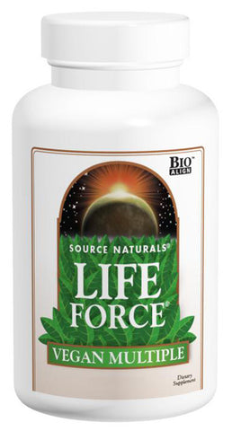 SOURCE NATURALS - Life Force Vegan Multiple - 180 Tablets