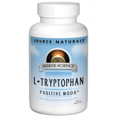 SOURCE NATURALS - L-Tryptophan 500 mg Serene Science Label - 120 Capsules
