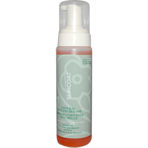 SUNCOAT - Natural Styling Mousse, Medium Hold