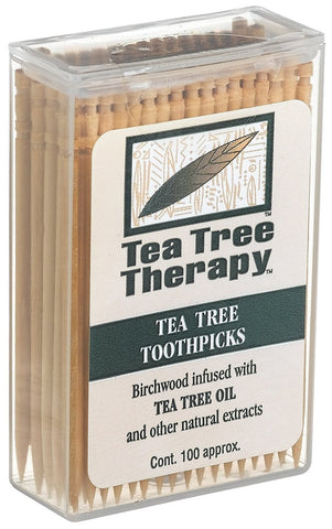 TEA TREE THERAPY  INC - Tea Tree Therapy Toothpicks (Mint)