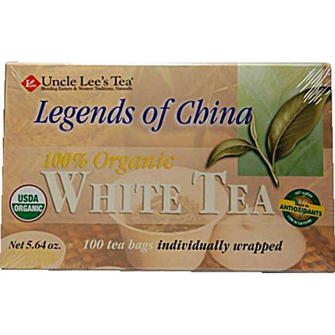 UNCLE LEE'S TEA - Legends Of China Organic White Tea