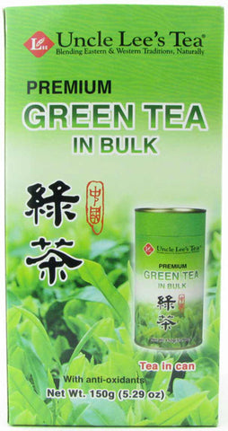 UNCLE LEE'S TEA - Green Tea Bulk Premium