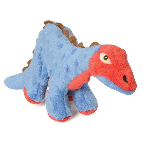 Go Dog - Mini Spike Plated Dinosaur with Chew Guard Stegosaurus