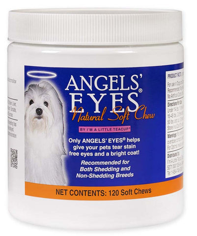 Angels Eyes - Chicken Flavored Natural Soft Chews for Dogs & Cats - 120 Soft Chews