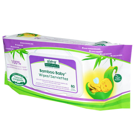 ALEVA - Bamboo Baby Wipes