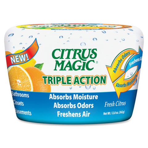CITRUS MAGIC - Triple Action Odor Absorber Solid
