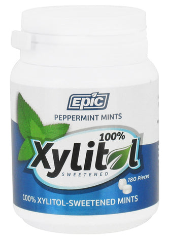 EPIC DENTAL - Xylitol Mints Peppermint