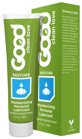 GOOD CLEAN LOVE - Restore Moisturizing Personal Lubricant