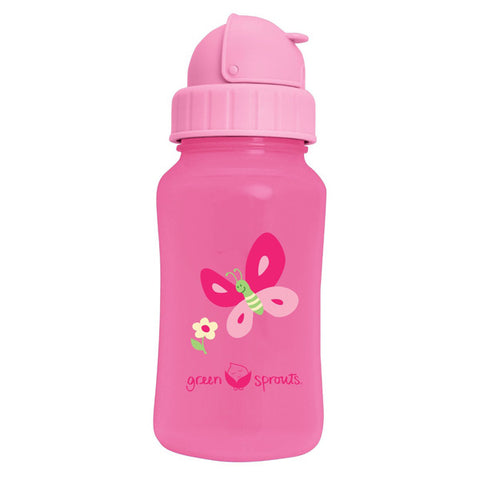 GREEN SPROUTS - Aqua Bottle-Pink