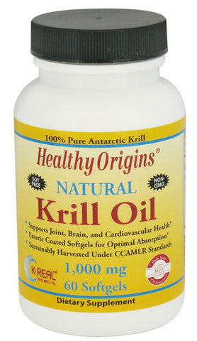 HEALTHY ORIGINS - Krill Oil 1000 mg
