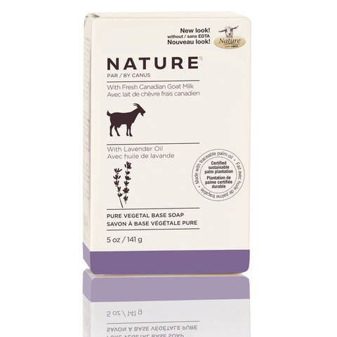 NATURE BY CANUS - Nature Pure Vegetal Base Soap Bar – Lavender Oil