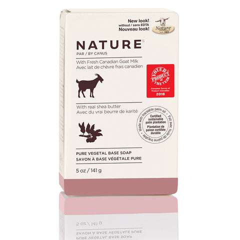 NATURE BY CANUS - Nature Pure Vegetal Base Soap Bar Real Shea Butter