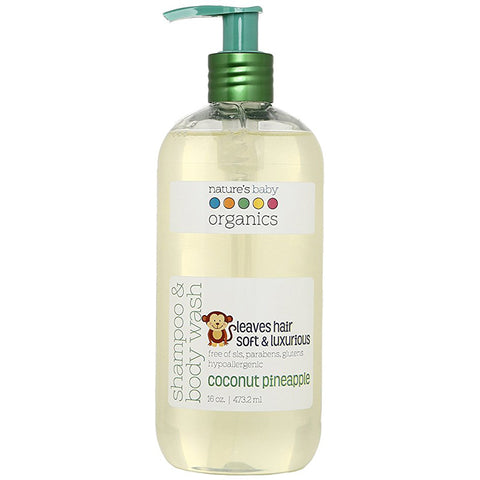 NATURE'S BABY - Shampoo & Body Wash Coconut Pineapple