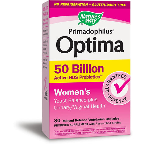NATURES WAY - Primadophilus Optima Women's 50 Billion