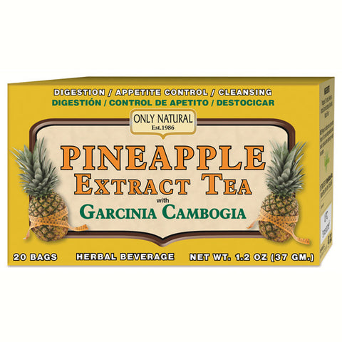 ONLY NATURAL - Pineapple Extract Tea with Garcinia Cambogia