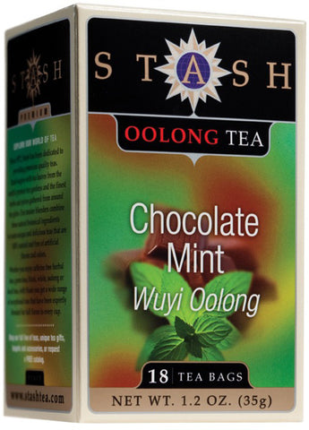 STASH TEA - Chocolate Mint Oolong Tea