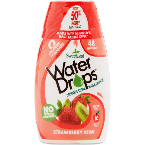 SWEETLEAF STEVIA - Sweet Drop Water Enhancer Strawberry Kiwi