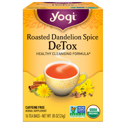YOGI TEA - Roasted Dandelion Spice DeTox Tea
