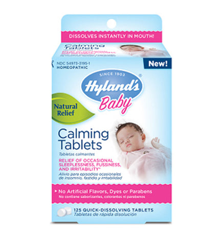 HYLANDS - Baby Calming Quick Dissolving Tablets