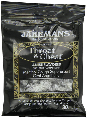 JAKEMANS Anise Throat and Chest Lozenge