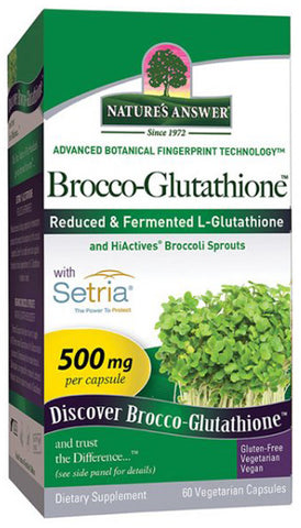 NATURES ANSWER - Brocco Glutathione