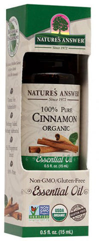 NATURES ANSWER - Essential Oil Organic Cinnamon