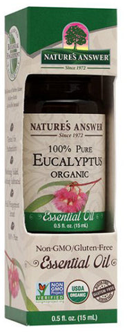 NATURES ANSWER - Essential Oil Organic Eucalyptus