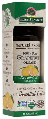 NATURES ANSWER - Essential Oil Organic Grapefruit