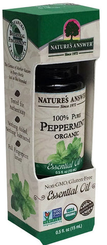 NATURES ANSWER - Essential Oil Organic Peppermint