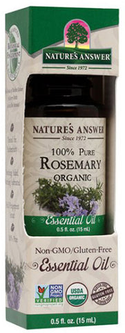 NATURES ANSWER - Essential Oil Organic Rosemary
