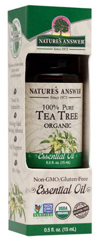 NATURES ANSWER - Essential Oil Organic Tea Tree