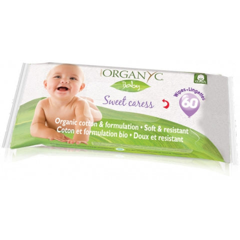ORGANYC - Sweet Caress Baby Wipes