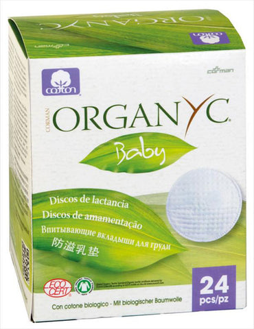 ORGANYC - 100% Organic Cotton Nursing Pads