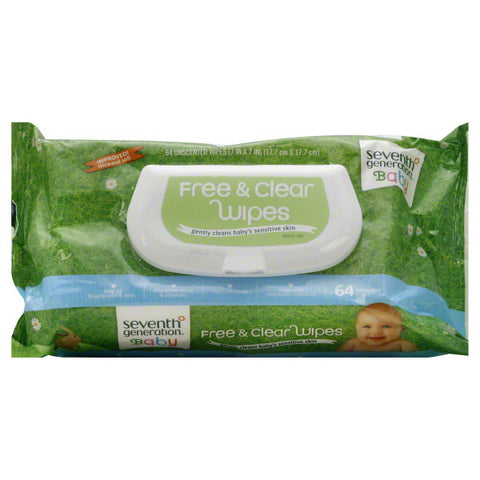 SEVENTH GENERATION - Free and Clear Baby Wipes