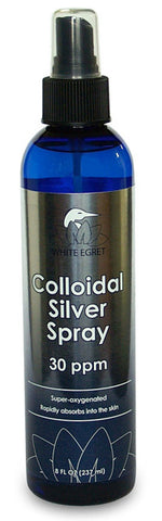 WHITE EGRET - Colloidal Silver Spray 30 ppm